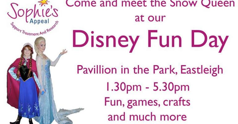 Disney themed family fun day Sophies Appeal