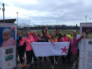 5k Fun Run 3.3.17 Sophies Appeal Eastleigh FC