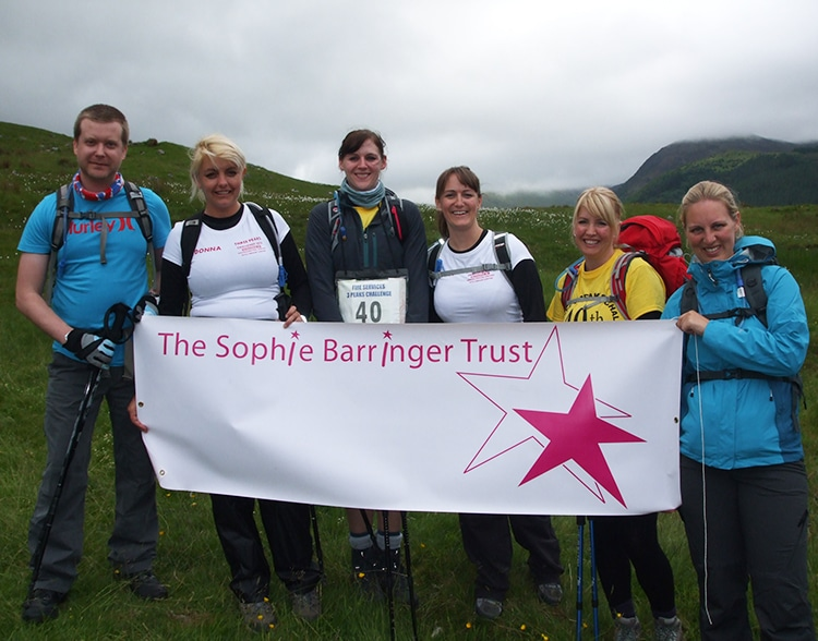 Ben Nevis fundraiser for Sophies Appeal slide 5