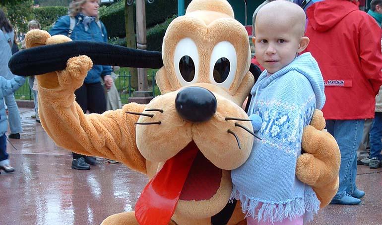 Sophie at Disneyland 2004