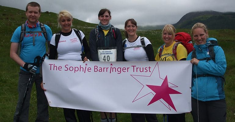 Ben Nevis fundraisers Sophies Appeal new