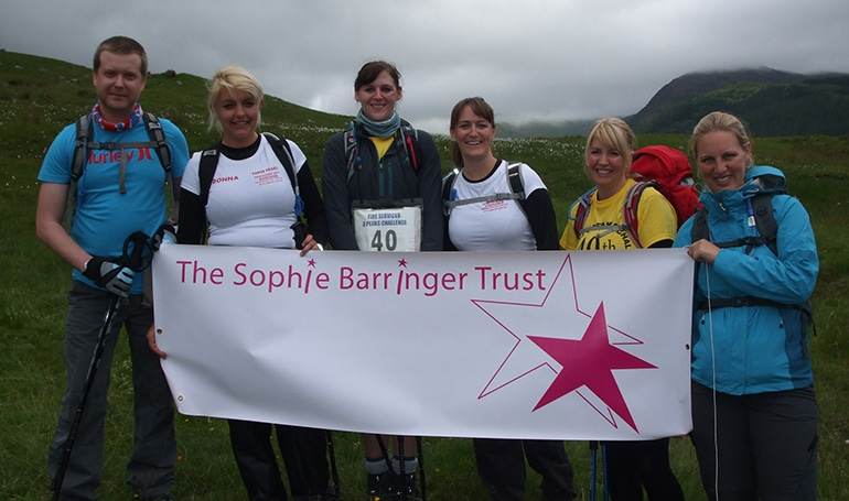 Ben Nevis Fundraisers Sophie's Appeal
