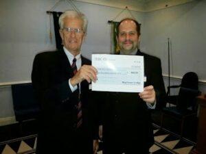Mayflower donation 2014