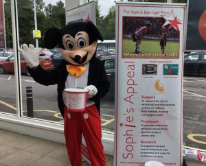 Sainsbury's raise £270 for Sophie's Appeal