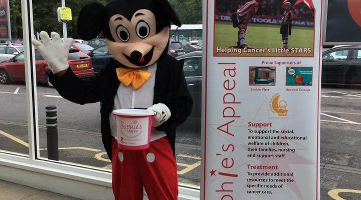 Sainsburys raises £270 Sophies Appeal September 2017
