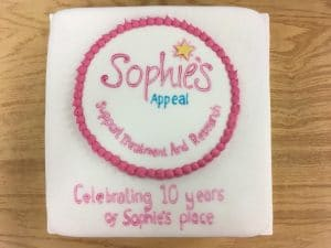 sophies place anniversary cake