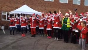 Santa fun run sophies appeal dec 2017 raises £2713