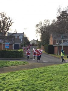 Santa Fun Run Raises £2713