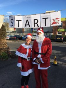 santa fun run sophies appeal