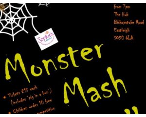 Halloween Monster Mash Ball Sophie's Appeal October 2018