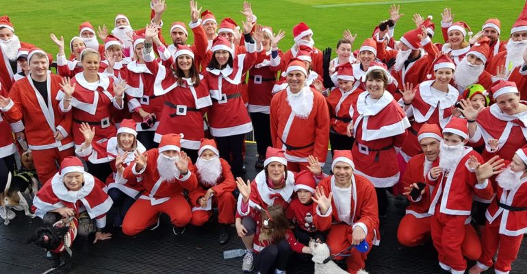 Sophie's Appeal Santa 5k fun run 2018