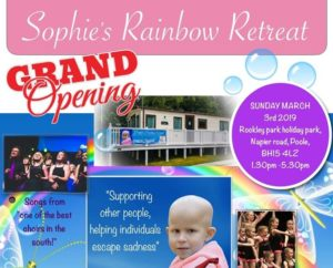 Sophie's Rainbow Retreat launch