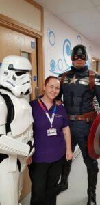 Captain America Piam Brown Ward Sophie's Appeal