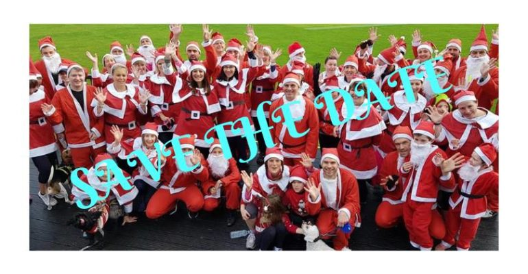 Santa 5k fun run 2019 Sophie's Appeal