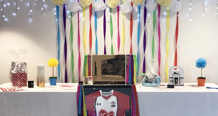 Sophie's Appeal Summer Ball 2019 raffle prizes